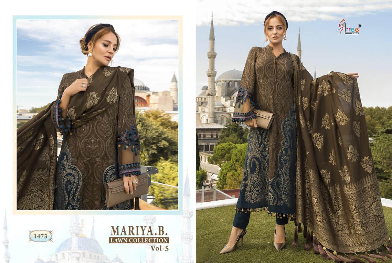 Shree Fabs Mariya B Lawn Collection Vol 5 Salwar Suit Wholesale Catalog 8 Pcs 12 - Shree Fabs Mariya B Lawn Collection Vol 5 Salwar Suit Wholesale Catalog 8 Pcs