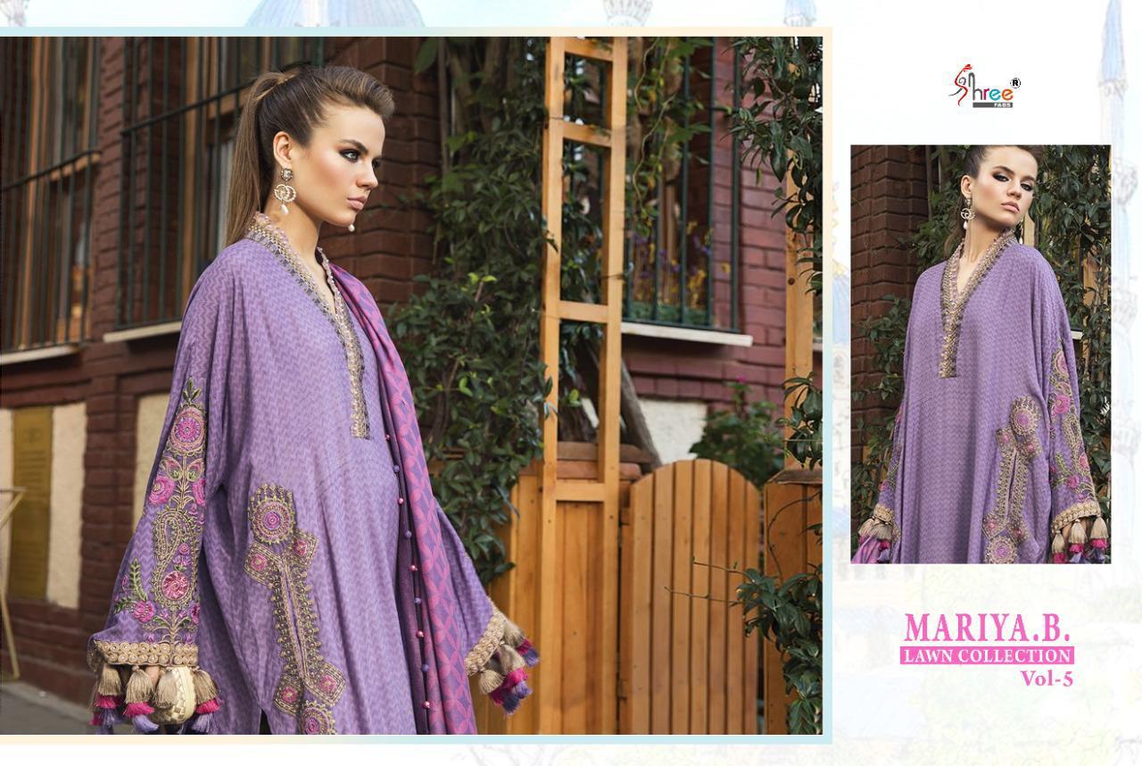 Shree Fabs Mariya B Lawn Collection Vol 5 Salwar Suit Wholesale Catalog 8 Pcs 15 - Shree Fabs Mariya B Lawn Collection Vol 5 Salwar Suit Wholesale Catalog 8 Pcs