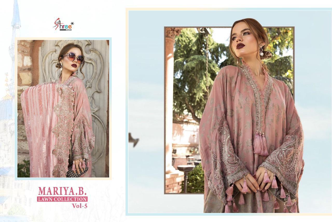 Shree Fabs Mariya B Lawn Collection Vol 5 Salwar Suit Wholesale Catalog 8 Pcs 16 - Shree Fabs Mariya B Lawn Collection Vol 5 Salwar Suit Wholesale Catalog 8 Pcs
