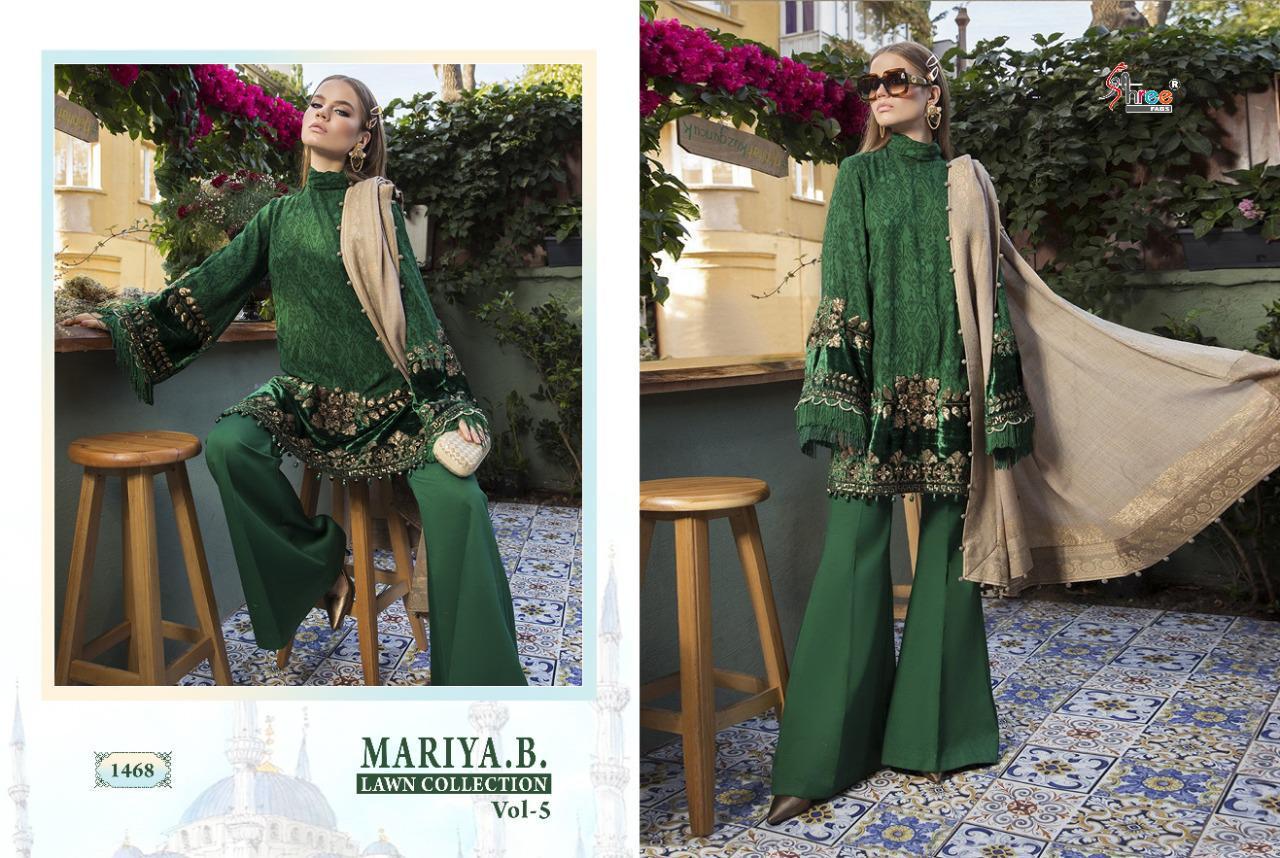 Shree Fabs Mariya B Lawn Collection Vol 5 Salwar Suit Wholesale Catalog 8 Pcs 5 - Shree Fabs Mariya B Lawn Collection Vol 5 Salwar Suit Wholesale Catalog 8 Pcs