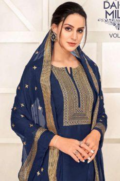 Angroop Dairy Milk Vol 32 Salwar Suit Wholesale Catalog 16 Pcs