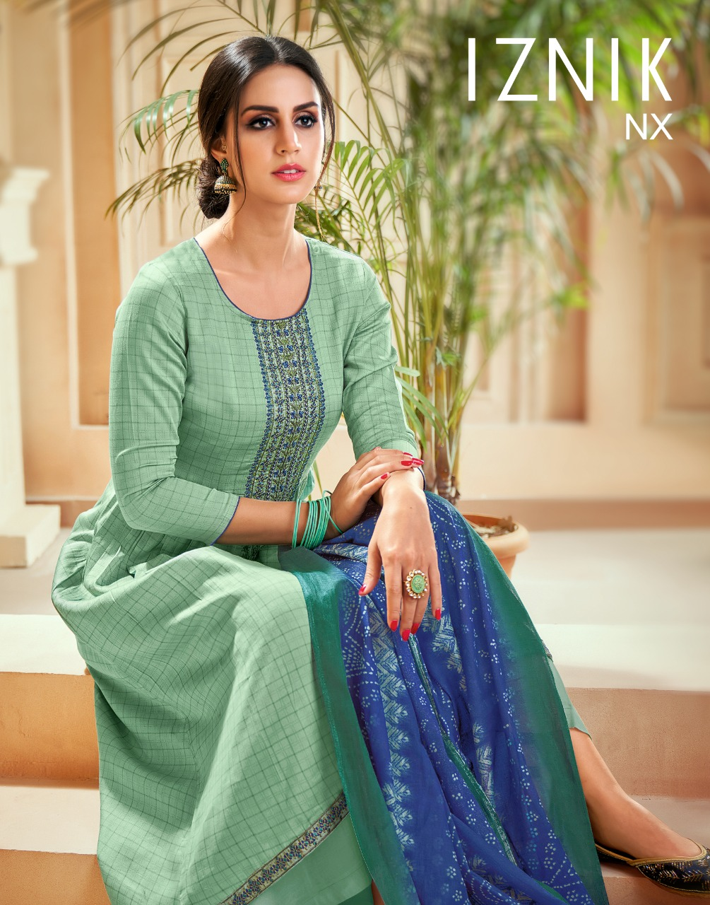 Angroop Plus Iznik Nx Salwar Suit Wholesale Catalog 6 Pcs 7 - Angroop Plus Iznik Nx Salwar Suit Wholesale Catalog 6 Pcs