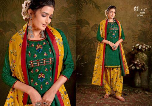 Balaji Cotton Rasberry Patiyala Vol 5 Salwar Suit Wholesale Catalog 12 Pcs 3 510x357 - Balaji Cotton Rasberry Patiyala Vol 5 Salwar Suit Wholesale Catalog 12 Pcs