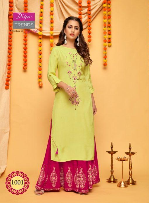 Diya Trends Fashion Mania Vol 1 by Kajal Style Kurti Wholesale Catalog 6 Pcs 2 510x692 - Diya Trends Fashion Mania Vol 1 by Kajal Style Kurti Wholesale Catalog 6 Pcs