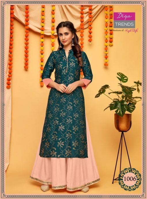 Diya Trends Fashion Mania Vol 1 by Kajal Style Kurti Wholesale Catalog 6 Pcs 3 510x692 - Diya Trends Fashion Mania Vol 1 by Kajal Style Kurti Wholesale Catalog 6 Pcs