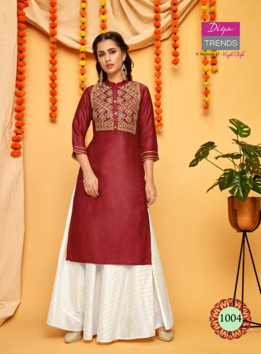 Diya Trends Fashion Mania Vol 1 by Kajal Style Kurti Wholesale Catalog 6 Pcs 4 510x692 - Diya Trends Fashion Mania Vol 1 by Kajal Style Kurti Wholesale Catalog 6 Pcs