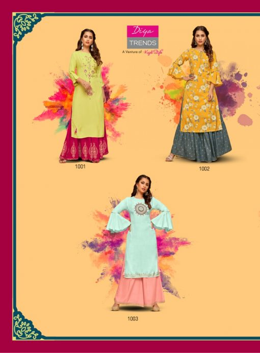 Diya Trends Fashion Mania Vol 1 by Kajal Style Kurti Wholesale Catalog 6 Pcs 7 510x692 - Diya Trends Fashion Mania Vol 1 by Kajal Style Kurti Wholesale Catalog 6 Pcs