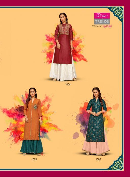 Diya Trends Fashion Mania Vol 1 by Kajal Style Kurti Wholesale Catalog 6 Pcs 8 510x692 - Diya Trends Fashion Mania Vol 1 by Kajal Style Kurti Wholesale Catalog 6 Pcs