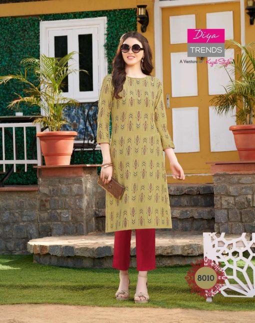 Diya Trends Gardencity Vol 8 by Kajal Style Kurti Wholesale Catalog 20 Pcs 10 510x646 - Diya Trends Gardencity Vol 8 by Kajal Style Kurti Wholesale Catalog 20 Pcs