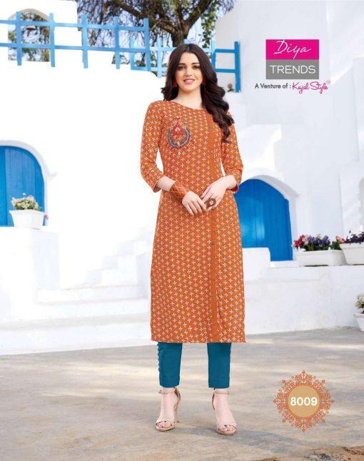 Diya Trends Gardencity Vol 8 by Kajal Style Kurti Wholesale Catalog 20 Pcs 9 510x646 - Diya Trends Gardencity Vol 8 by Kajal Style Kurti Wholesale Catalog 20 Pcs