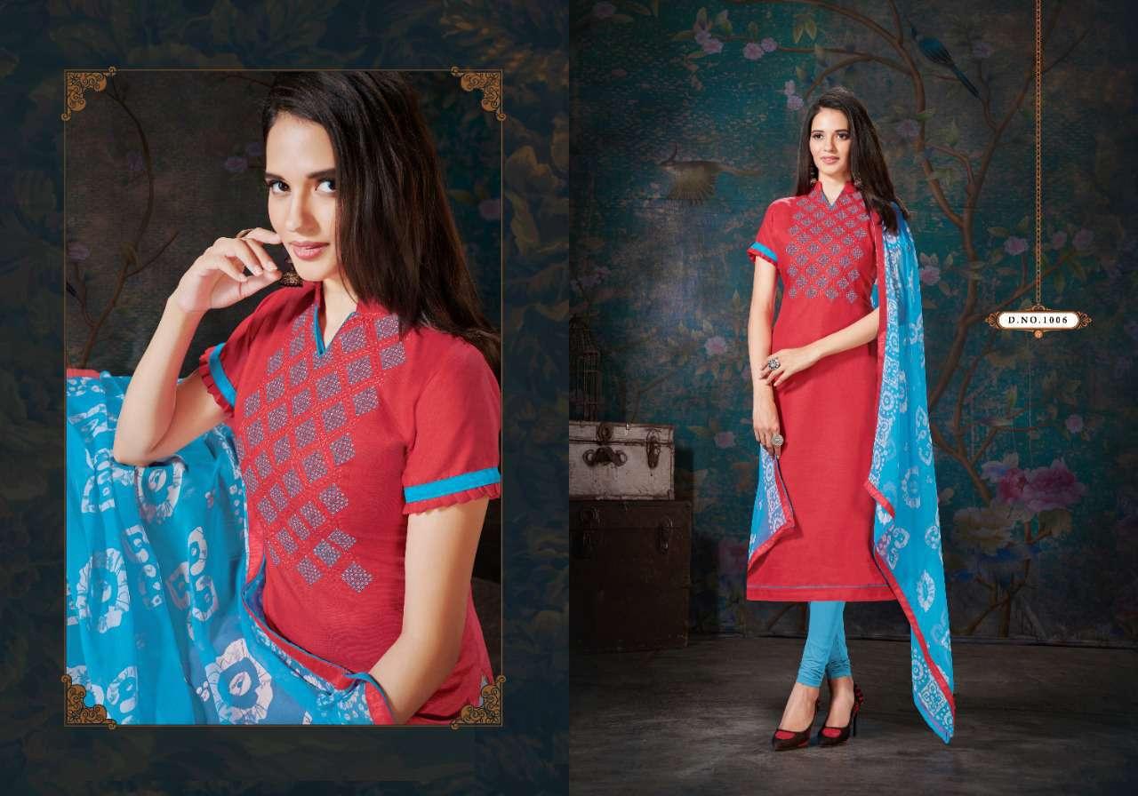 Fashion Floor Enjoy Vol 3 Salwar Suit Wholesale Catalog 12 Pcs 1 - Fashion Floor Enjoy Vol 3 Salwar Suit Wholesale Catalog 12 Pcs
