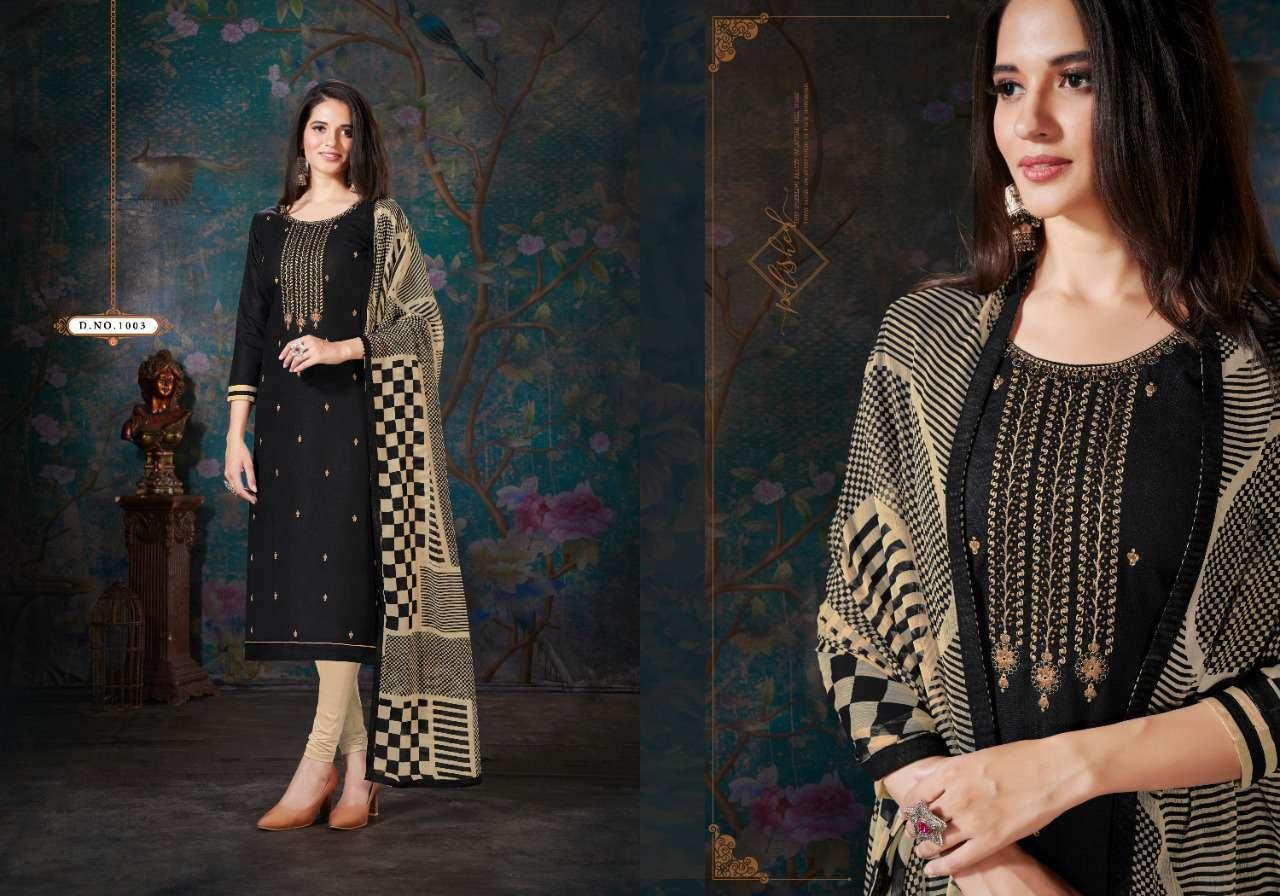 Fashion Floor Enjoy Vol 3 Salwar Suit Wholesale Catalog 12 Pcs 12 - Fashion Floor Enjoy Vol 3 Salwar Suit Wholesale Catalog 12 Pcs