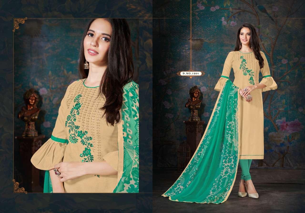Fashion Floor Enjoy Vol 3 Salwar Suit Wholesale Catalog 12 Pcs 14 - Fashion Floor Enjoy Vol 3 Salwar Suit Wholesale Catalog 12 Pcs