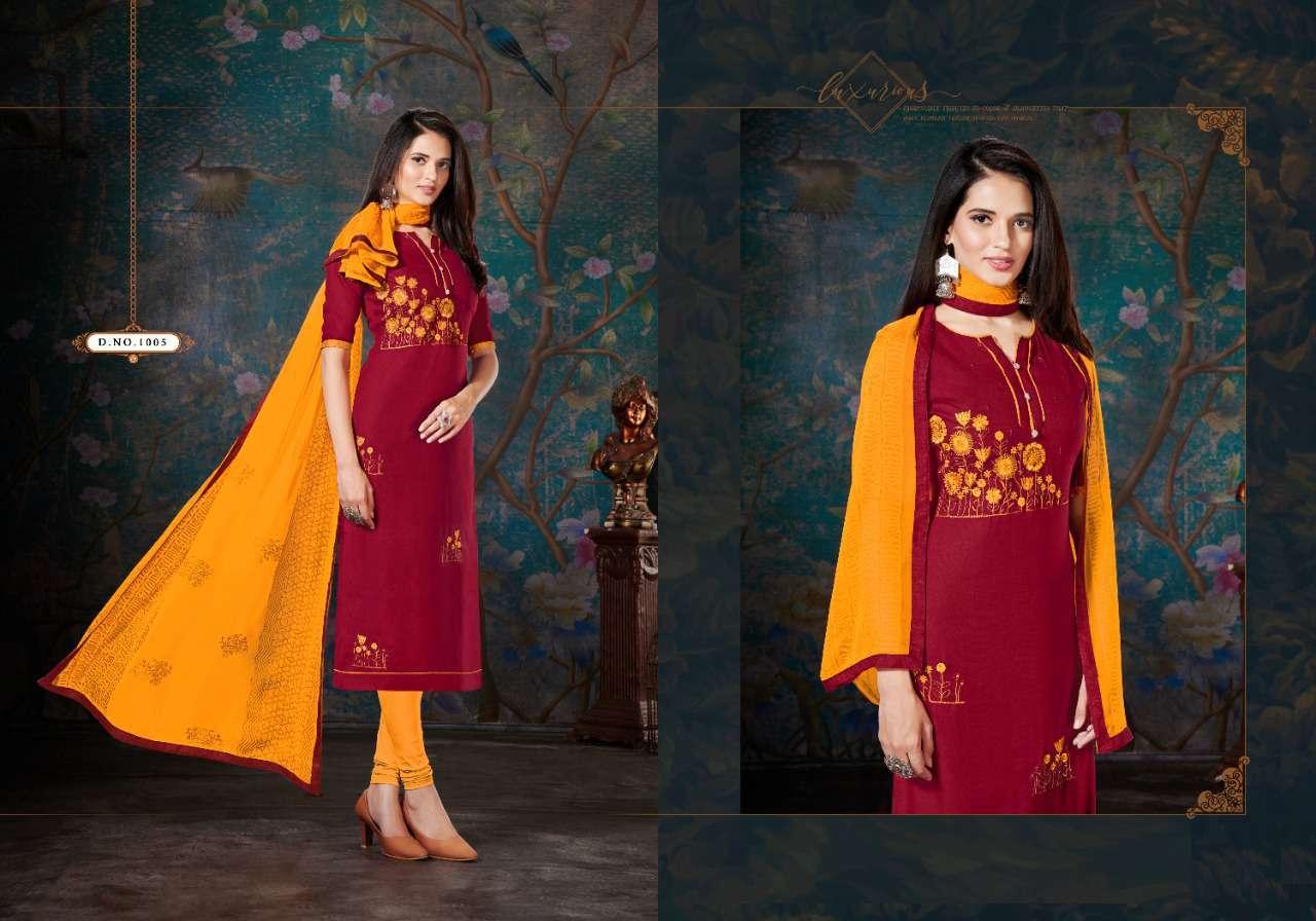 Fashion Floor Enjoy Vol 3 Salwar Suit Wholesale Catalog 12 Pcs 3 - Fashion Floor Enjoy Vol 3 Salwar Suit Wholesale Catalog 12 Pcs