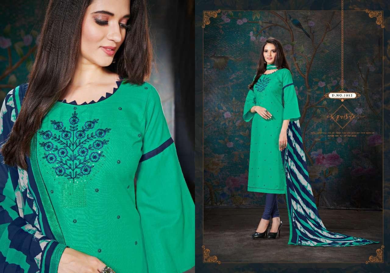 Fashion Floor Enjoy Vol 3 Salwar Suit Wholesale Catalog 12 Pcs 9 - Fashion Floor Enjoy Vol 3 Salwar Suit Wholesale Catalog 12 Pcs