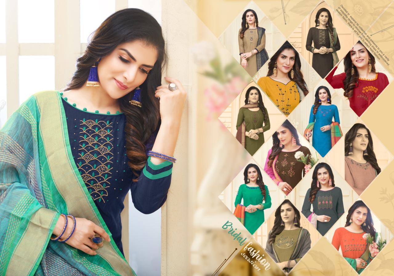 Fashion Floor Silky Salwar Suit Wholesale Catalog 12 Pcs 10 - Fashion Floor Silky Salwar Suit Wholesale Catalog 12 Pcs