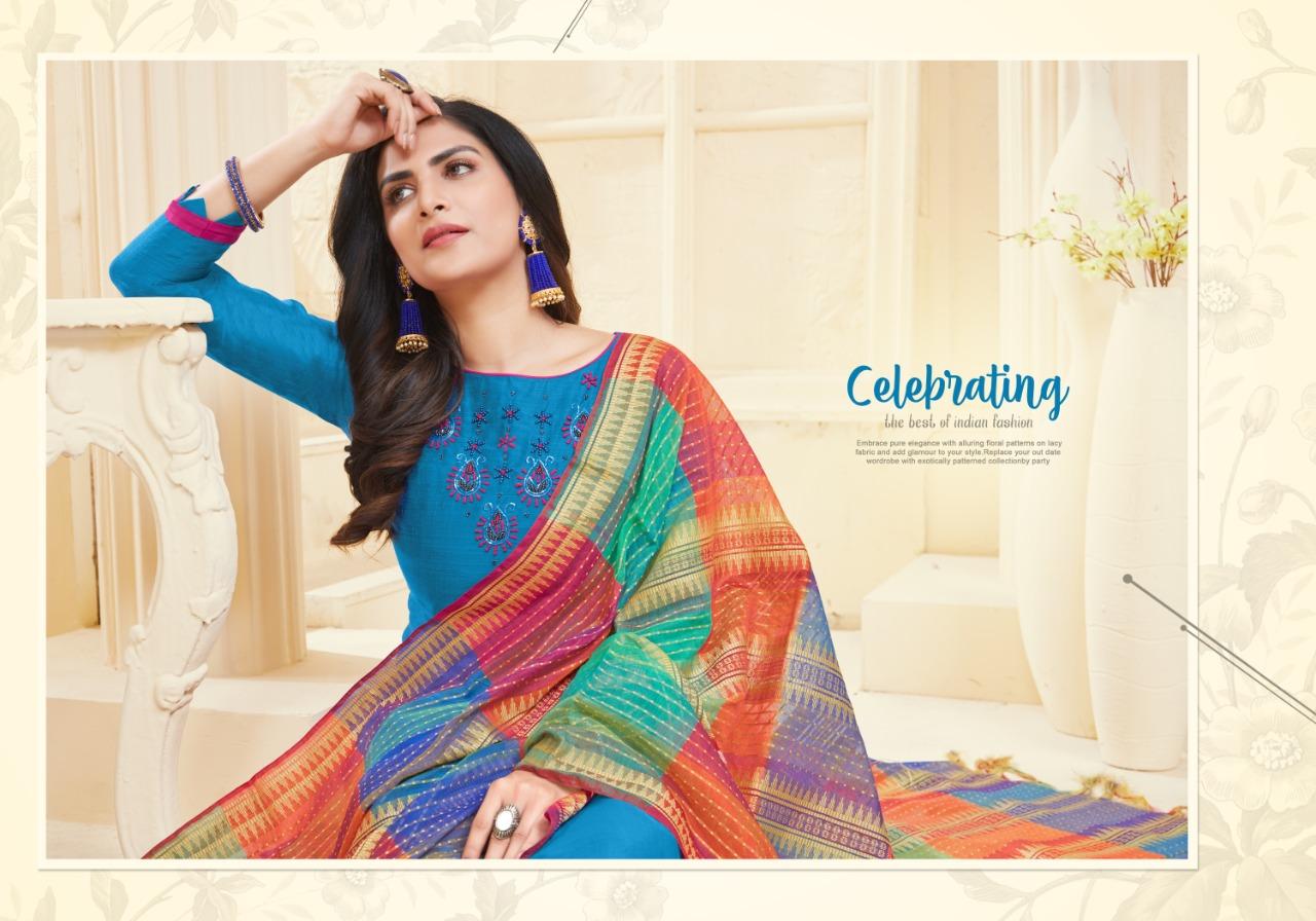 Fashion Floor Silky Salwar Suit Wholesale Catalog 12 Pcs 2 - Fashion Floor Silky Salwar Suit Wholesale Catalog 12 Pcs