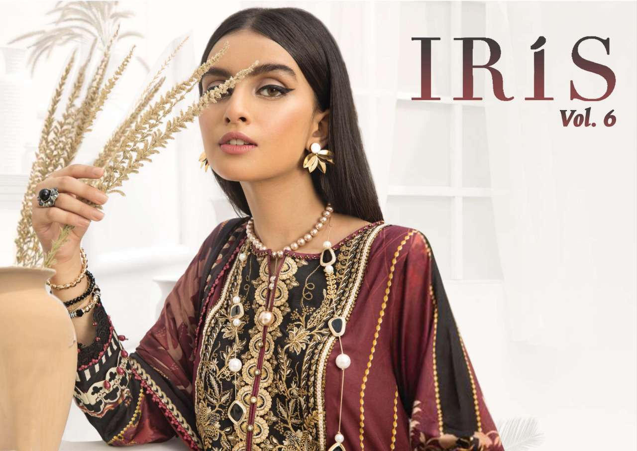 Iris Vol 6 Karachi Cotton Salwar Suit Wholesale Catalog 10 Pcs 1 - Iris Vol 6 Karachi Cotton Salwar Suit Wholesale Catalog 10 Pcs