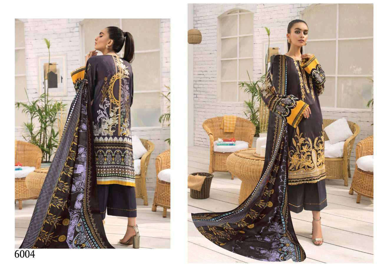Iris Vol 6 Karachi Cotton Salwar Suit Wholesale Catalog 10 Pcs 4 - Iris Vol 6 Karachi Cotton Salwar Suit Wholesale Catalog 10 Pcs