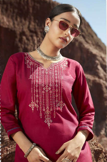 Kalaroop Lily Vol 18 by Kajree Kurti Wholesale Catalog 8 Pcs - Kalaroop Lily Vol 18 by Kajree Kurti Wholesale Catalog 8 Pcs