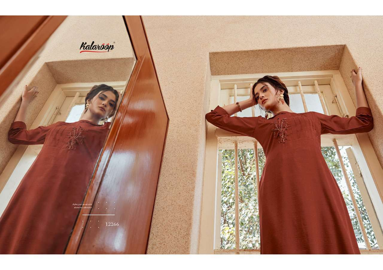 Kalaroop Octavia Vol 4 by Kajree Kurti Wholesale Catalog 6 Pcs 3 - Kalaroop Octavia Vol 4 by Kajree Kurti Wholesale Catalog 6 Pcs