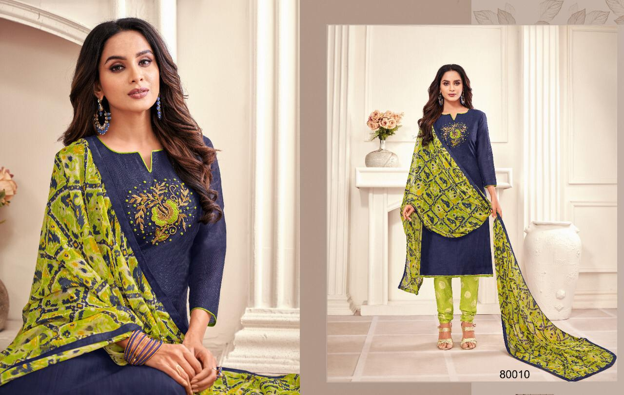 Kapil Trendz Jharna Salwar Suit Wholesale Catalog 12 Pcs 11 - Kapil Trendz Jharna Salwar Suit Wholesale Catalog 12 Pcs