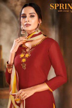 Kapil Trendz Spring Vol 5 Salwar Suit Wholesale Catalog 14 Pcs