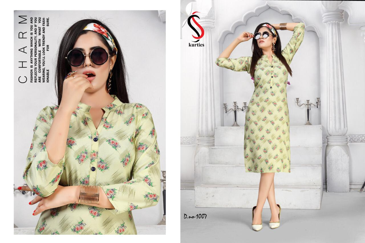 Kareena Vol 5 Kurti Wholesale Catalog 8 Pcs 5 - Kareena Vol 5 Kurti Wholesale Catalog 8 Pcs