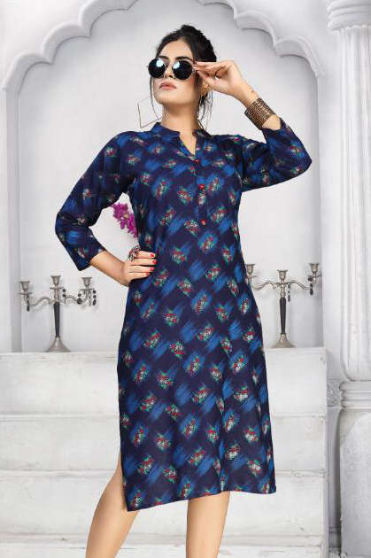 Kareena Vol 5 Kurti Wholesale Catalog 8 Pcs - Kareena Vol 5 Kurti Wholesale Catalog 8 Pcs
