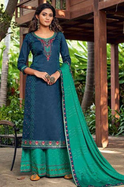 Kessi Safari Salwar Suit Wholesale Catalog 8 Pcs