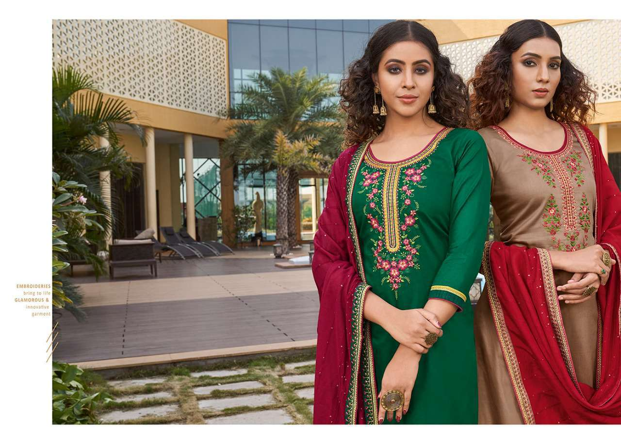 Kessi Sahenaj Vol 2 Salwar Suit Wholesale Catalog 8 Pcs 1 - Kessi Sahenaj Vol 2 Salwar Suit Wholesale Catalog 8 Pcs
