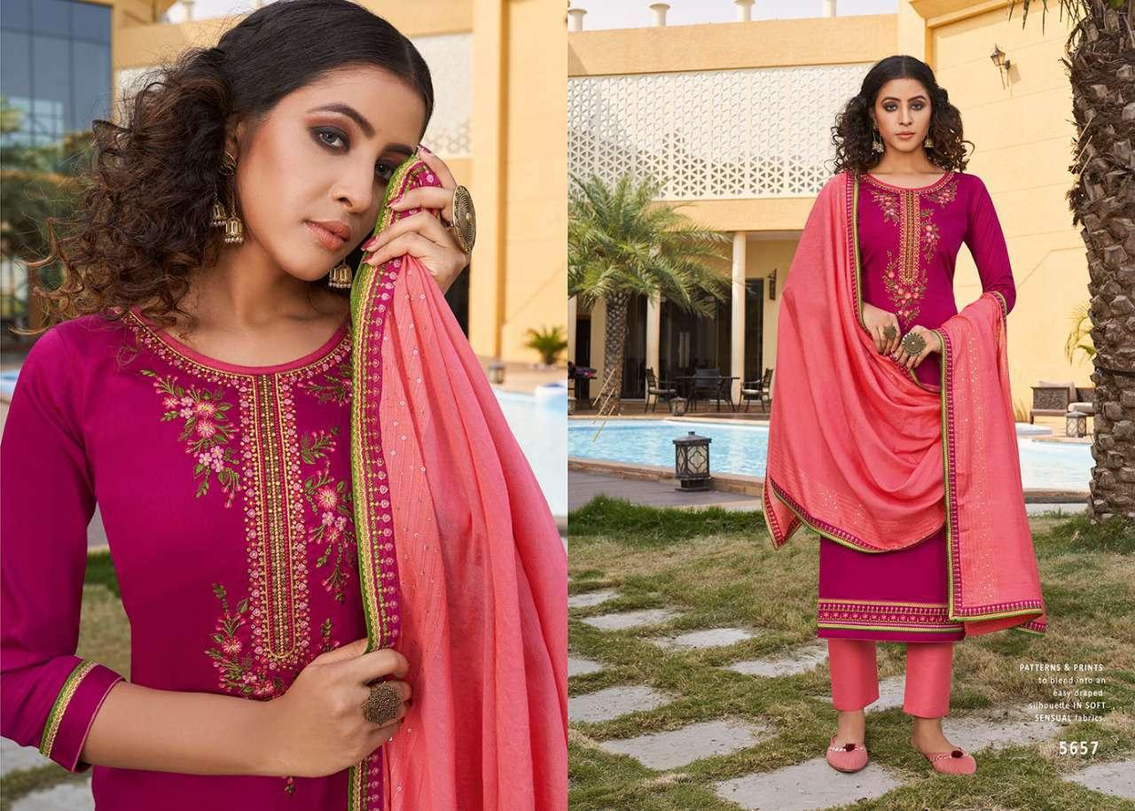 Kessi Sahenaj Vol 2 Salwar Suit Wholesale Catalog 8 Pcs 4 - Kessi Sahenaj Vol 2 Salwar Suit Wholesale Catalog 8 Pcs