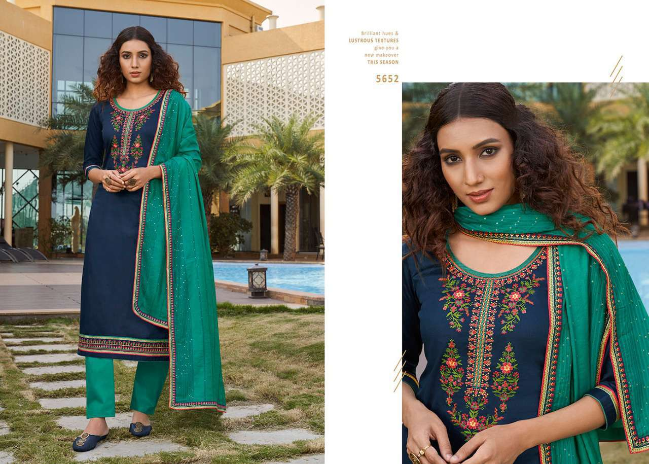 Kessi Sahenaj Vol 2 Salwar Suit Wholesale Catalog 8 Pcs 5 - Kessi Sahenaj Vol 2 Salwar Suit Wholesale Catalog 8 Pcs
