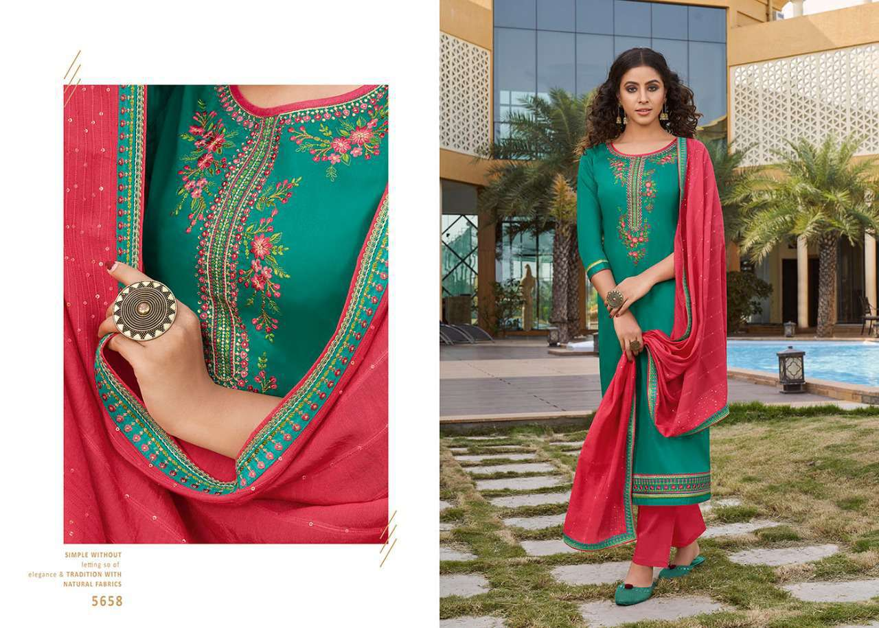Kessi Sahenaj Vol 2 Salwar Suit Wholesale Catalog 8 Pcs 6 - Kessi Sahenaj Vol 2 Salwar Suit Wholesale Catalog 8 Pcs