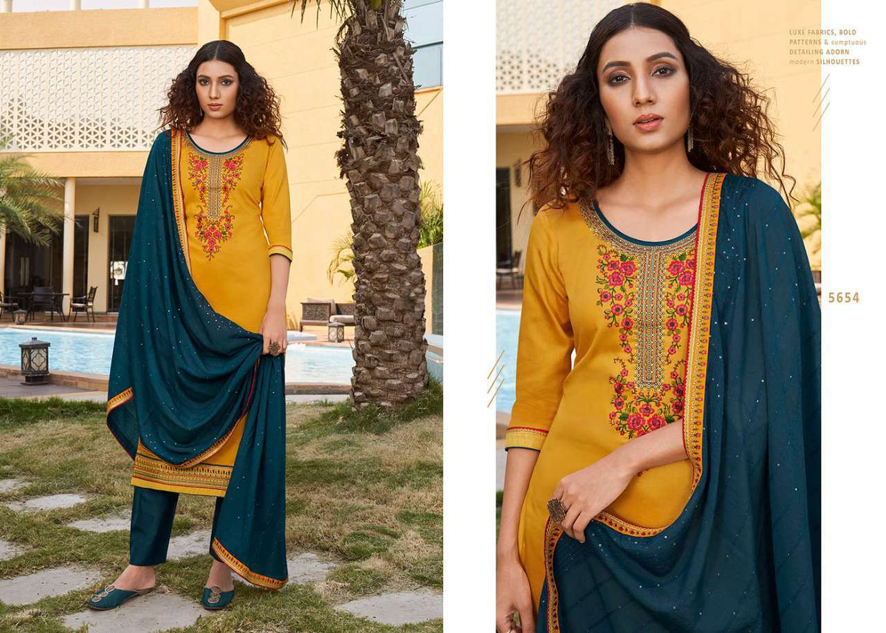 Kessi Sahenaj Vol 2 Salwar Suit Wholesale Catalog 8 Pcs 8 - Kessi Sahenaj Vol 2 Salwar Suit Wholesale Catalog 8 Pcs