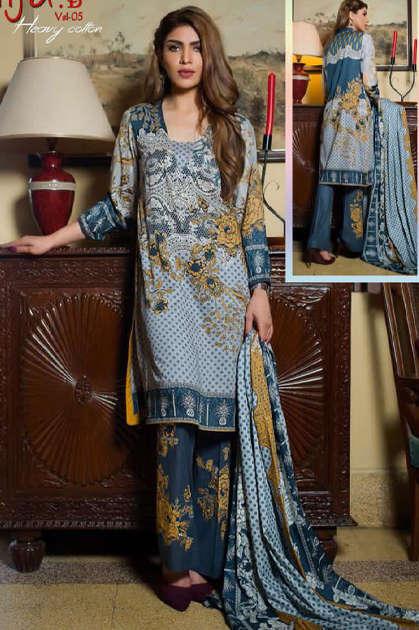 Keval Feb Alija B Vol 5 Heavy Cotton Salwar Suit Wholesale Catalog 6 Pcs 10 - Keval Feb Alija B Vol 5 Heavy Cotton Salwar Suit Wholesale Catalog 6 Pcs