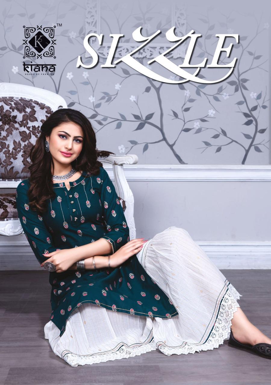 Kiana Sizzle Kurti with Sharara Wholesale Catalog 8 Pcs 1 - Kiana Sizzle Kurti with Sharara Wholesale Catalog 8 Pcs