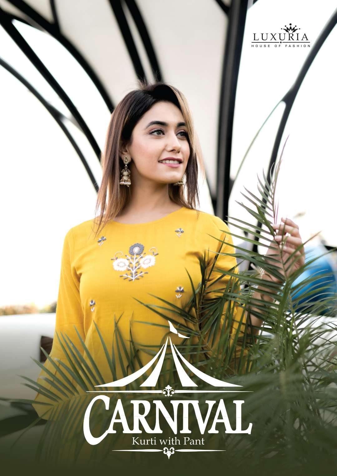 Luxuria Carnival Kurti with Pant Wholesale Catalog 5 Pcs 1 - Luxuria Carnival Kurti with Pant Wholesale Catalog 5 Pcs
