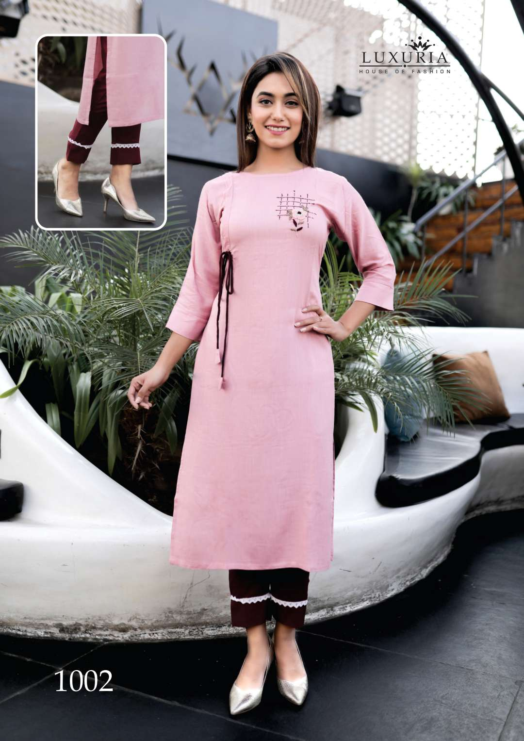 Luxuria Carnival Kurti with Pant Wholesale Catalog 5 Pcs 2 - Luxuria Carnival Kurti with Pant Wholesale Catalog 5 Pcs