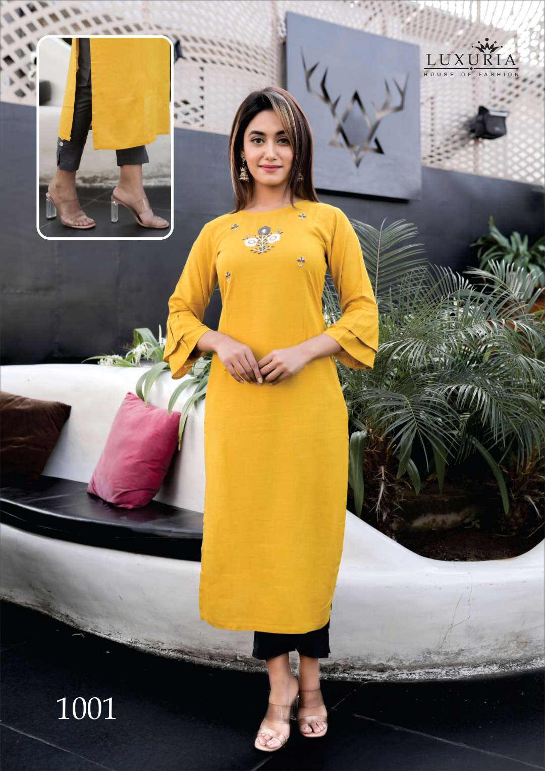 Luxuria Carnival Kurti with Pant Wholesale Catalog 5 Pcs 6 - Luxuria Carnival Kurti with Pant Wholesale Catalog 5 Pcs