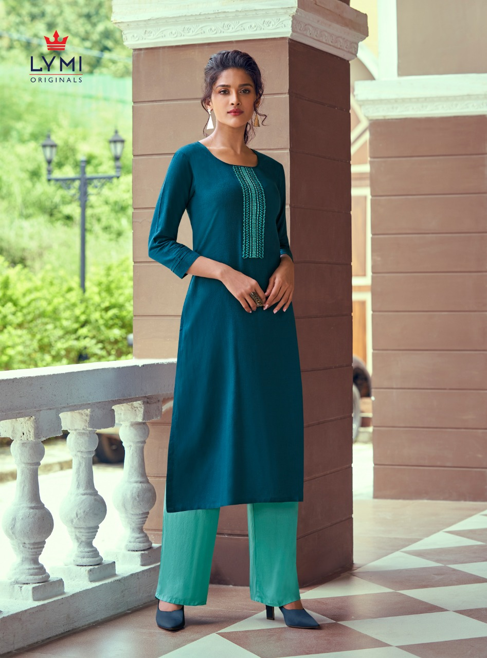 Lymi Runway by Kessi Kurti with Pant Wholesale Catalog 8 Pcs 2 - Lymi Runway by Kessi Kurti with Pant Wholesale Catalog 8 Pcs