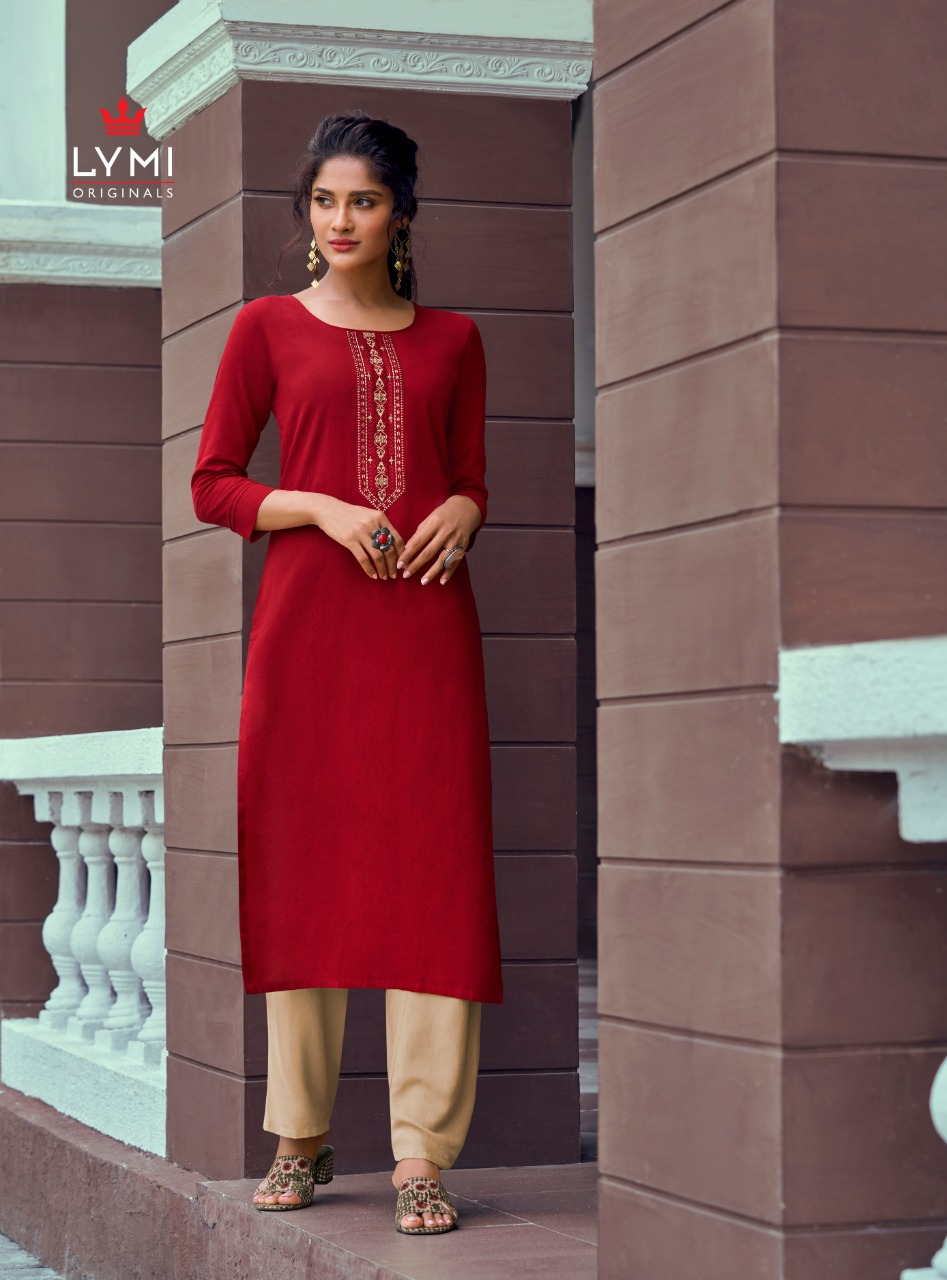 Lymi Runway by Kessi Kurti with Pant Wholesale Catalog 8 Pcs 4 - Lymi Runway by Kessi Kurti with Pant Wholesale Catalog 8 Pcs