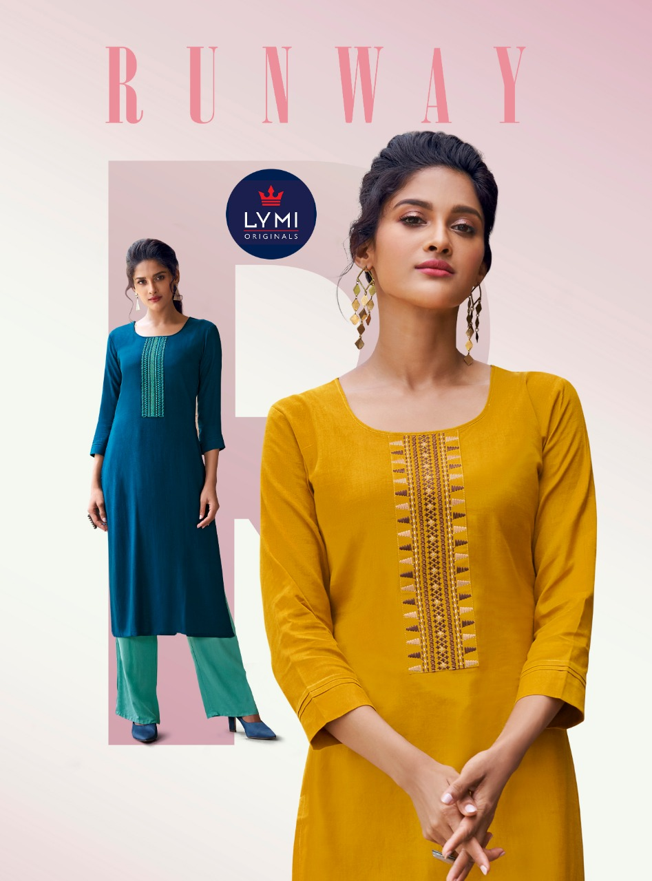 Lymi Runway by Kessi Kurti with Pant Wholesale Catalog 8 Pcs 7 - Lymi Runway by Kessi Kurti with Pant Wholesale Catalog 8 Pcs