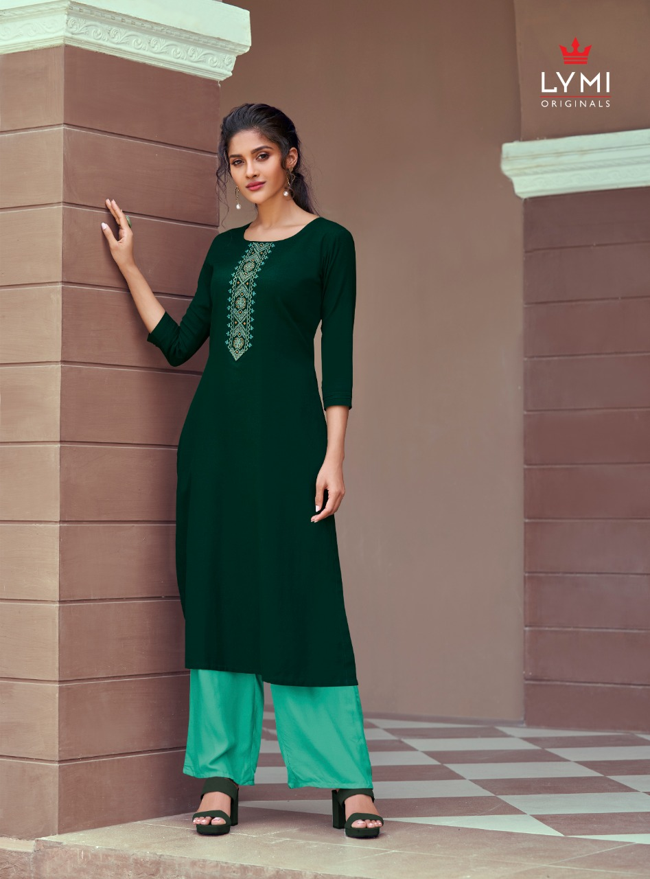 Lymi Runway by Kessi Kurti with Pant Wholesale Catalog 8 Pcs 9 - Lymi Runway by Kessi Kurti with Pant Wholesale Catalog 8 Pcs