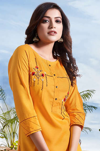 Manya Classic Kurti Wholesale Catalog 6 Pcs