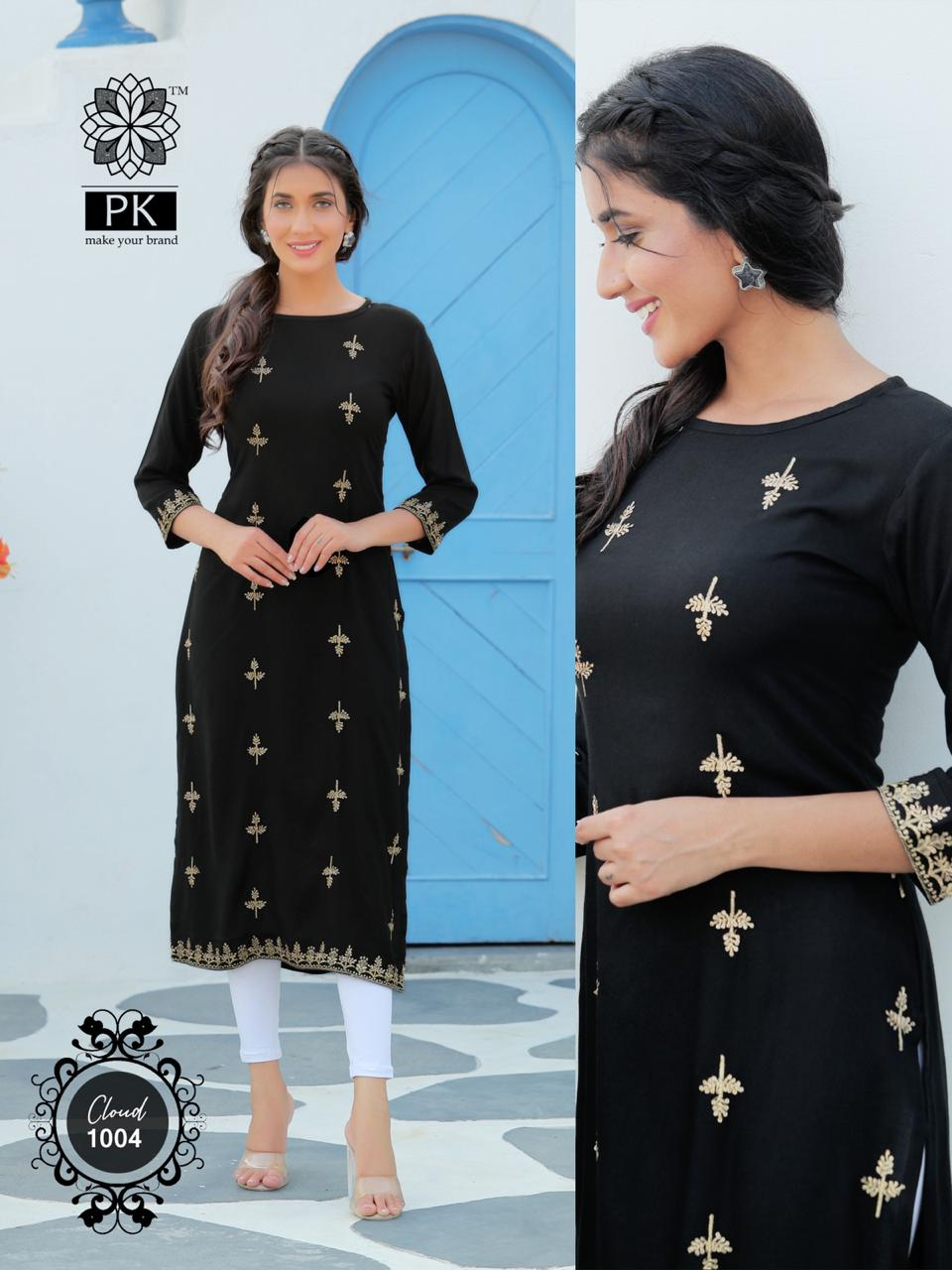 Pk Fashion Cloud Vol 1 Kurti Wholesale Catalog 6 Pcs 6 - Pk Fashion Cloud Vol 1 Kurti Wholesale Catalog 6 Pcs