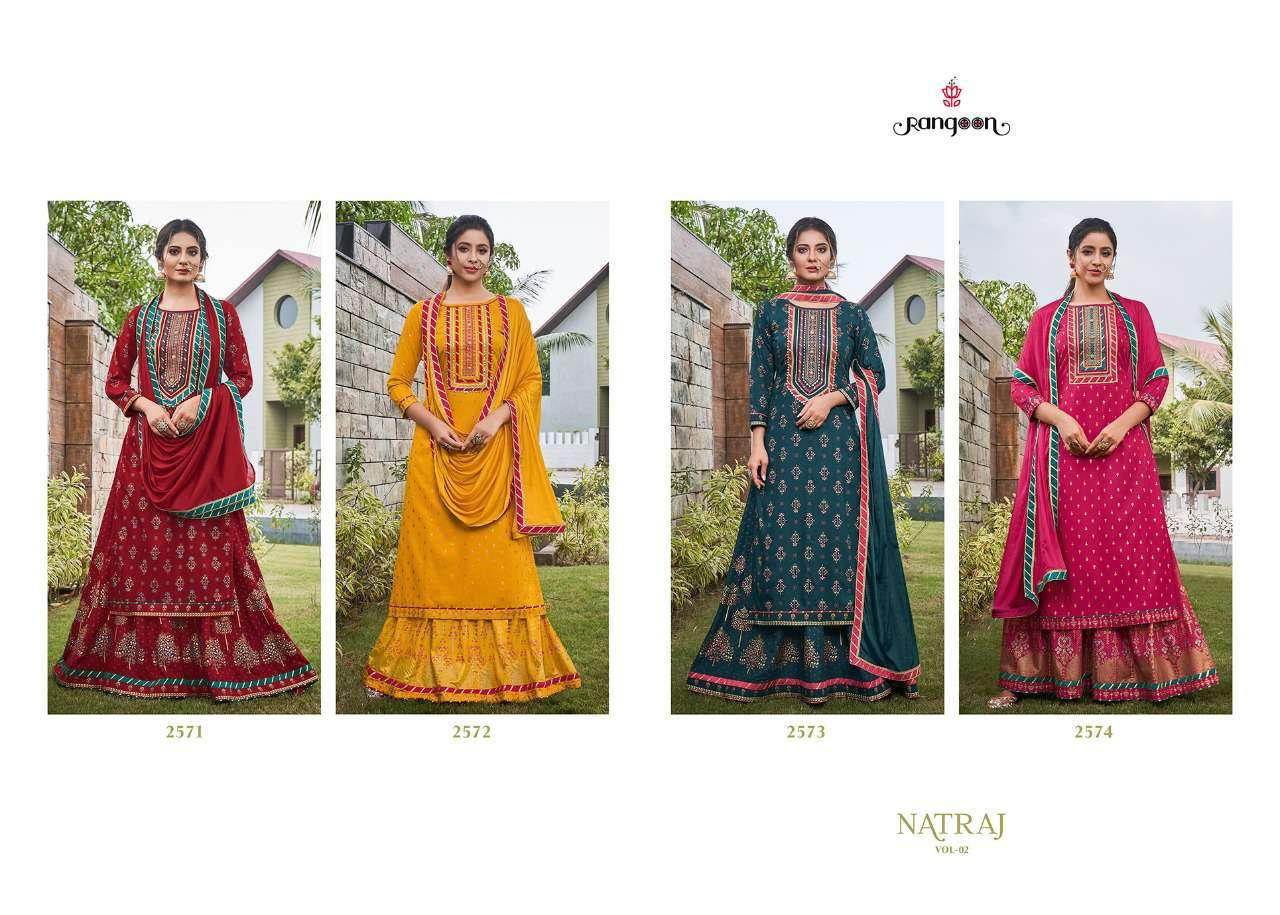 Rangoon Natraj Vol 2 by Kessi Readymade Salwar Suit Wholesale Catalog 4 Pcs 8 - Rangoon Natraj Vol 2 by Kessi Readymade Salwar Suit Wholesale Catalog 4 Pcs
