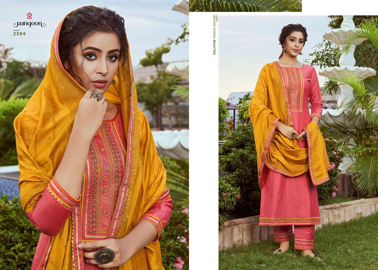 Rangoon Rangoli by Kessi Readymade Salwar Suit Wholesale Catalog 4 Pcs 1 - Rangoon Rangoli by Kessi Readymade Salwar Suit Wholesale Catalog 4 Pcs