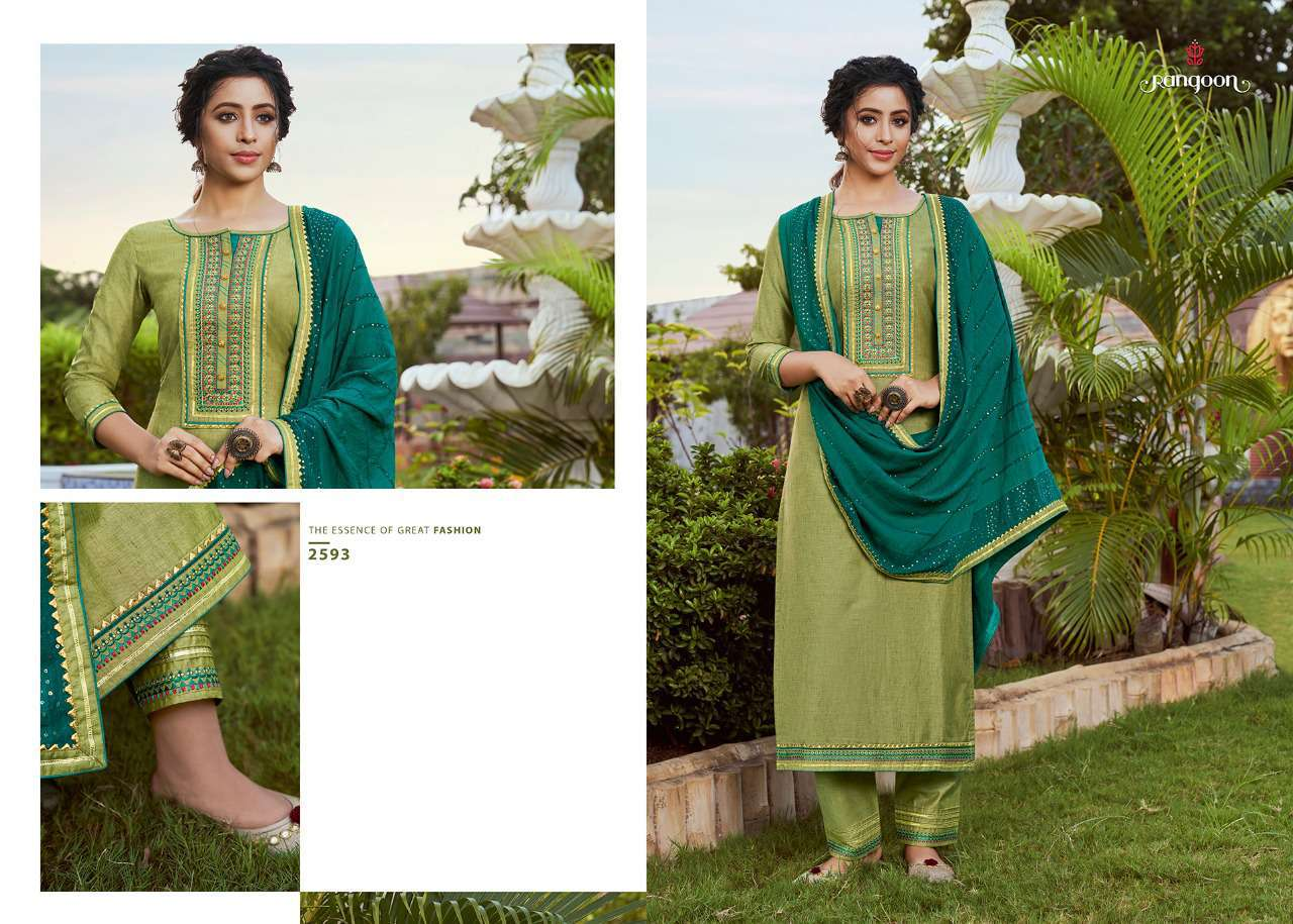 Rangoon Rangoli by Kessi Readymade Salwar Suit Wholesale Catalog 4 Pcs 4 - Rangoon Rangoli by Kessi Readymade Salwar Suit Wholesale Catalog 4 Pcs