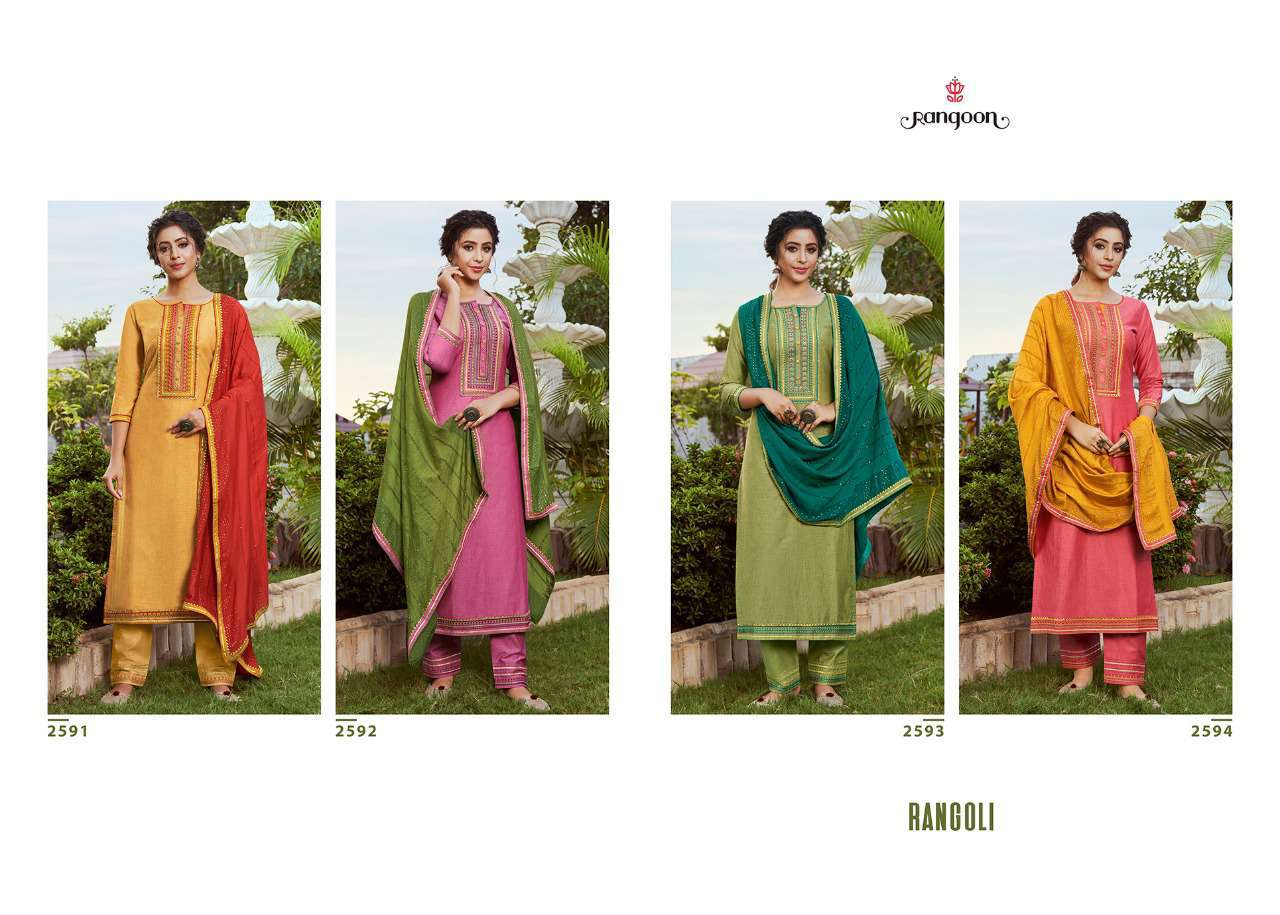 Rangoon Rangoli by Kessi Readymade Salwar Suit Wholesale Catalog 4 Pcs 8 - Rangoon Rangoli by Kessi Readymade Salwar Suit Wholesale Catalog 4 Pcs
